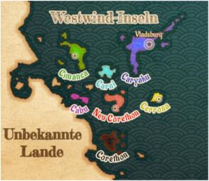 Westwind-Inseln (Namen)