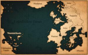 Weltkarte (Leändischer Ozean)